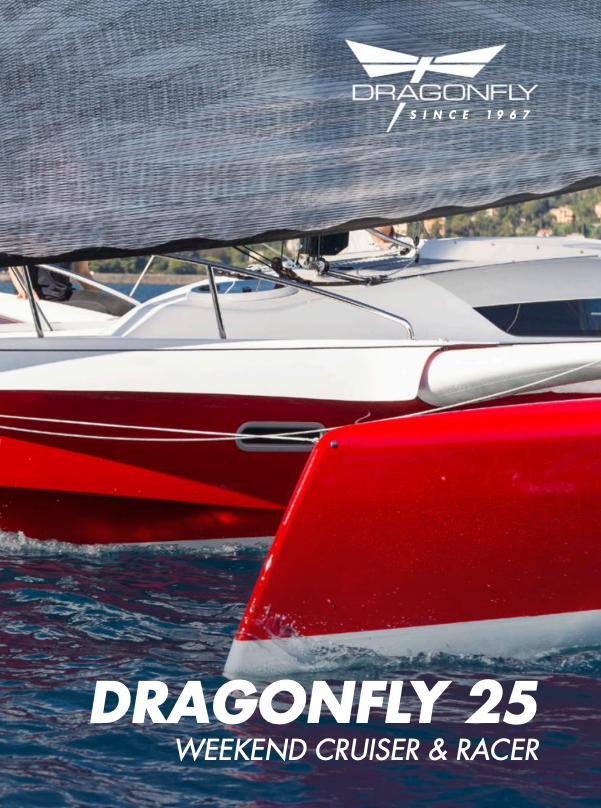 Dragonfly 25 trimaran brochure link
