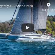Dragonfly 40 trimaran video link