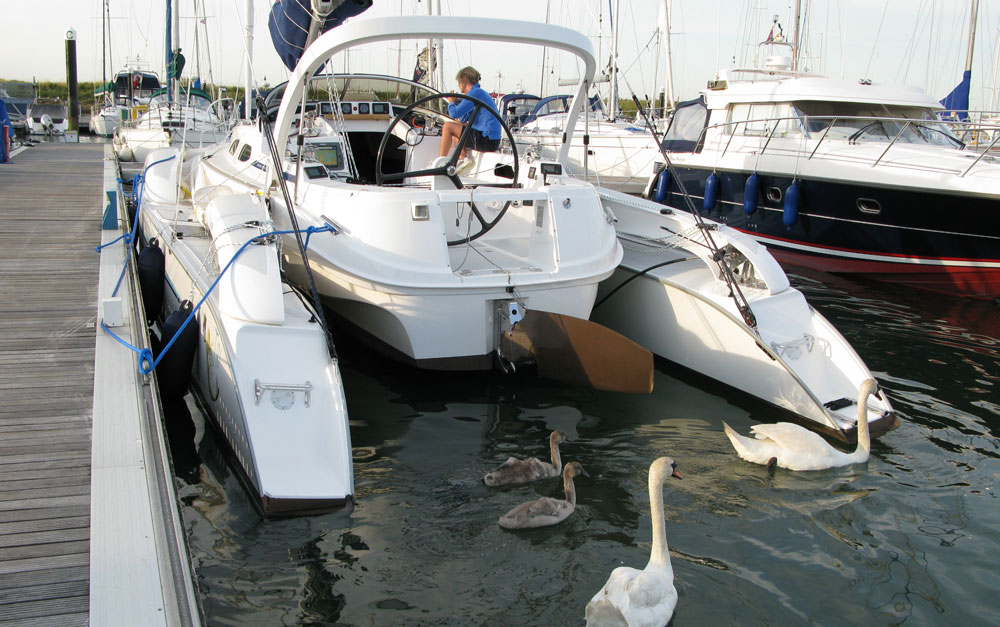 Dragonfly 35 trimaran for sale