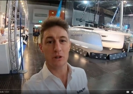 Dragonfly 40 introduction by Yachting World magazine