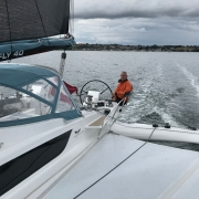 Sailing Dragonfly 40 trimaran