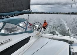 Sailing Dragonfly 40 trimaran