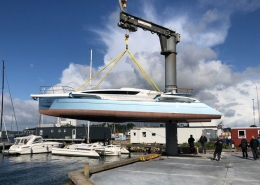 Dragonfly 40, hull 2 launched