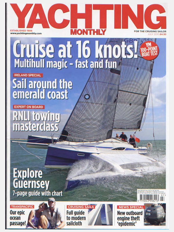 Yachting Monthly reviews Dragonfly 28