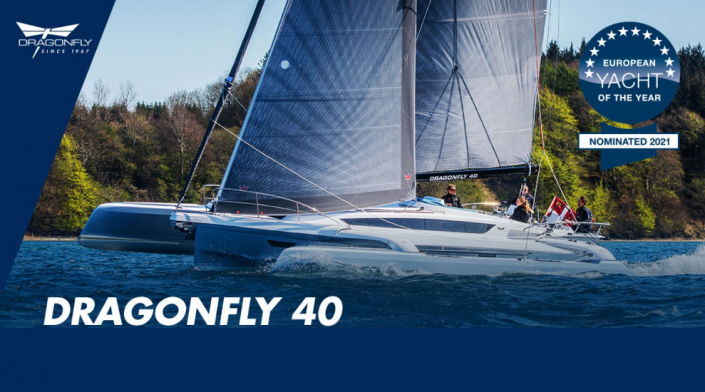 Dragonfly 40 nominated for European Yacht of the Year