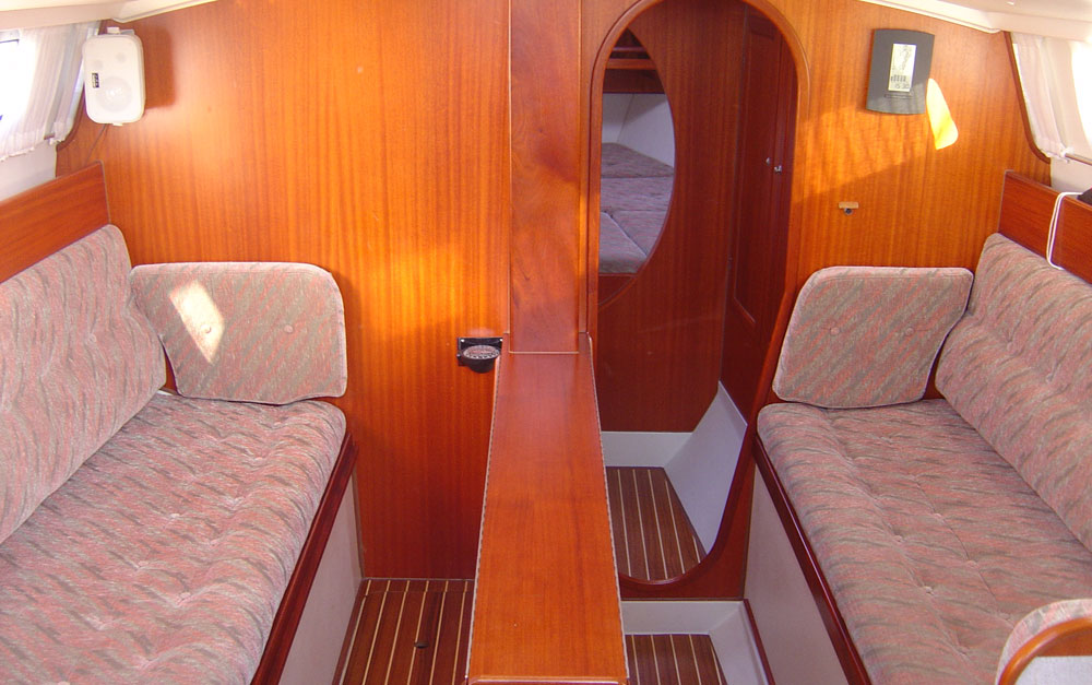 Dragonfly 1000 main cabin