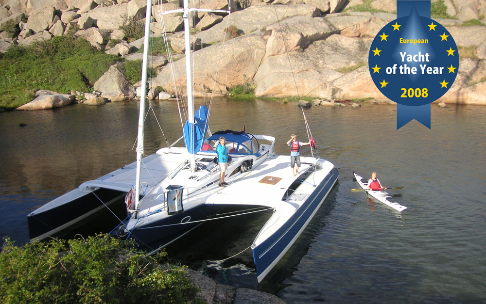 Dragonfly 35 European Yacht of the Year 2008