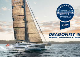 Dragonfly 40 - European Yacht of the Year 2021
