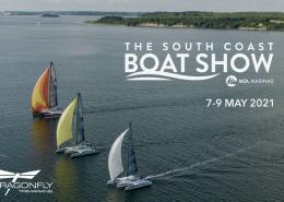 Dragonfly at South Coast Boat Show 2021