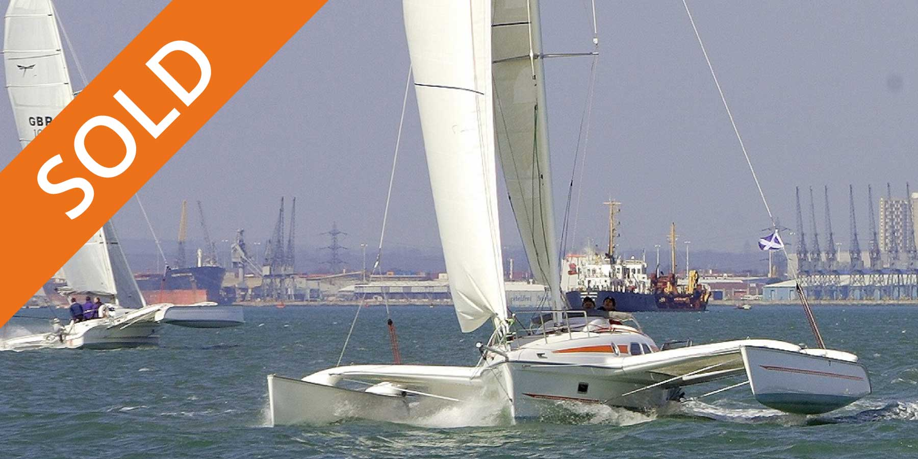 Dragonfly 920 trimaran now sold